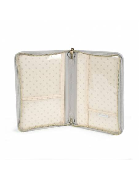 pasito-a-pasito-Portadocumentos-libro-nacimiento-maria-gris-abierto