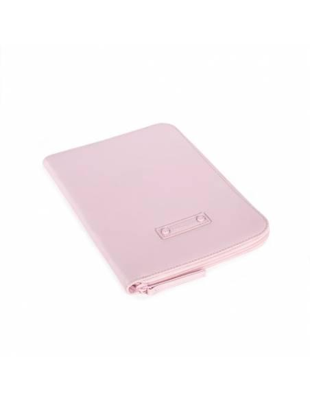 pasito-a-pasito-Portadocumentos-libro-nacimiento-essentials-rosa-lateral