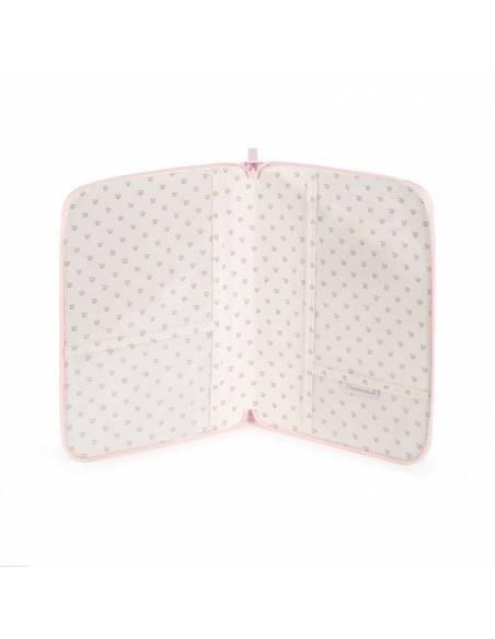 pasito-a-pasito-Portadocumentos-libro-nacimiento-essentials-rosa-interior