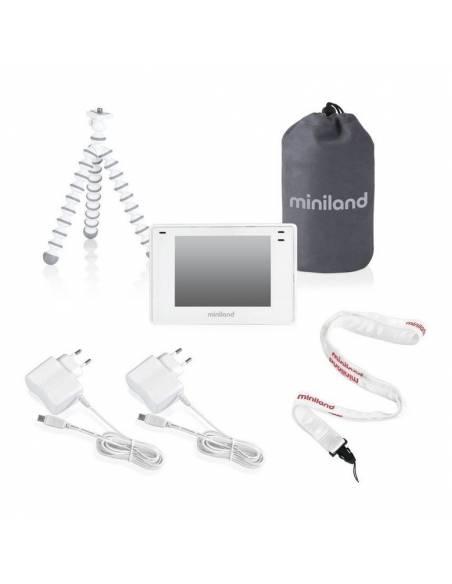 miniland-cámara-vigilabebés-digimonitor-3,5-pulgadas-plus-accesorios
