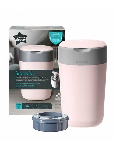 tommee-tippee-contenedor-pañales-rosa-Twist-&-Click
